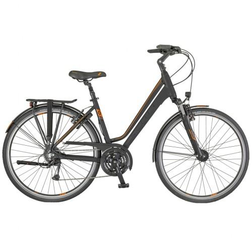 Scott Bike Sub Comfort 10 Unisex, Zwart Rood